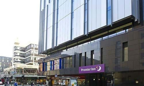 Alternative exterior view of Premier Inn Buchanan Street